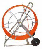 Гибкий стержень на барабане для проталкивания зонда, длина 60 метров